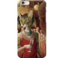 Modern-Day Bastet iPhone Case/Skin