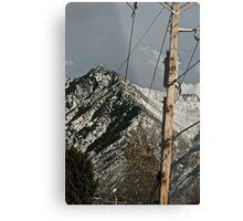 Power to the Mountains Metal Print