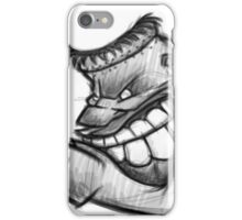Cool cartoon sketch design iPhone Case/Skin