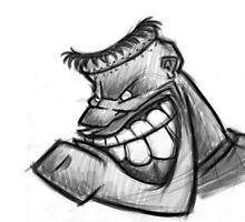 Cool cartoon sketch design by MASSAMOO