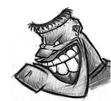 Cool cartoon sketch design Photographic Print