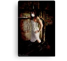 The Desolate Decayed Canvas Print