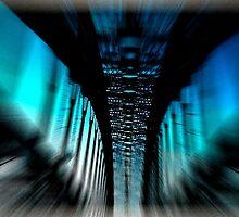 Harbour bridge peak hour by iPhoneographyli