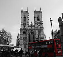 Westminster Abbey, London by rebeccajane