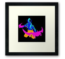 Illidan Pop Art Framed Print