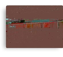 Abstract for Viv Canvas Print