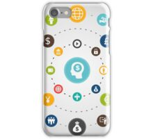Business an orbit iPhone Case/Skin