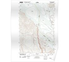 USGS Topo Map Washington Cathlamet 20110901 TM Poster