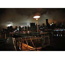 Batman's Gotham-like NYC Photographic Print