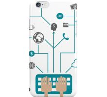 Business communication iPhone Case/Skin