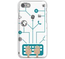 Business communication iPhone Case/Skin