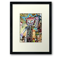 Hello Basquiat! Framed Print