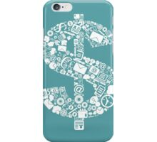 Business dollar iPhone Case/Skin