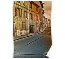 Beaujolai Village in France Poster