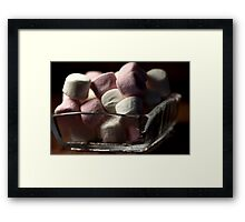 Marshmallow Delights Framed Print