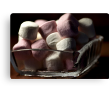 Marshmallow Delights Canvas Print
