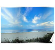 The Ninety Mile Beach Poster