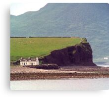Cottages, Ring of Kerry, Ireland Canvas Print