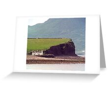 Cottages, Ring of Kerry, Ireland Greeting Card