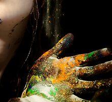 Falling Glitter by WingedCreations