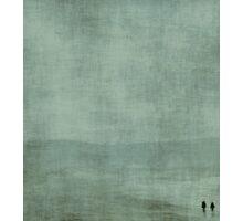 T W O ~ blue Photographic Print