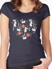 Rabbit Season Women's Fitted Scoop T-Shirt
