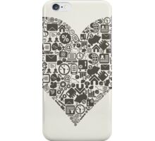 Business heart iPhone Case/Skin