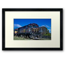 #2007 Train Framed Print