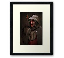 The Peasant Framed Print
