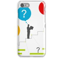 Business ladder3 iPhone Case/Skin
