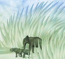Elefant`s Walk by gabiw