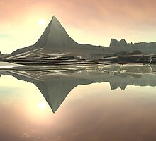 Pyramid Mountain by Hugh Fathers
