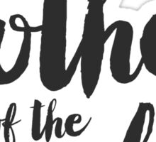 THE MOTHER OF THE BRIDE Sticker