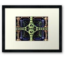Intersection 3d Framed Print