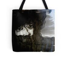 fear.... without a scream..... Tote Bag