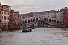 Venice Rialto Bridge by Sergey Martyushev