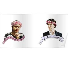 Sherlock and John together Poster