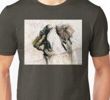 Weathered Leather Unisex T-Shirt