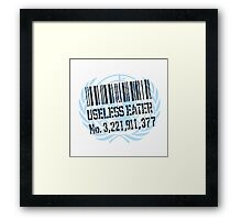 United Nations Useless Eater #.... Framed Print
