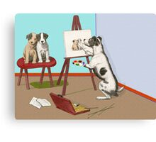 The Dogs of Art. Canvas Print