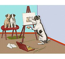 The Dogs of Art. Photographic Print