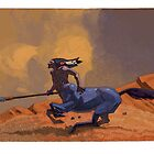 galloping centaur by David  Kennett