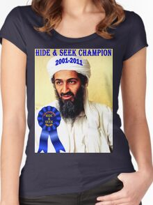 Hide & Seek Champion Women's Fitted Scoop T-Shirt