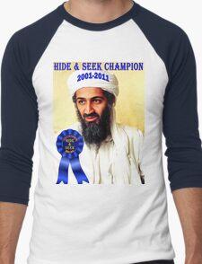 Hide & Seek Champion Men's Baseball ¾ T-Shirt