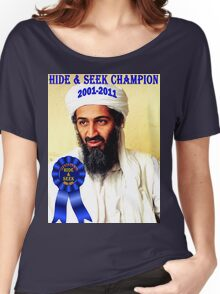 Hide & Seek Champion Women's Relaxed Fit T-Shirt