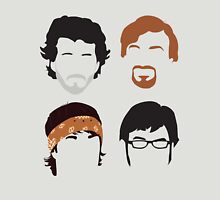 Flight of the Conchords Silly-ettes: 4-up T-Shirt
