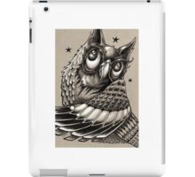 Decorative Owl iPad Case/Skin
