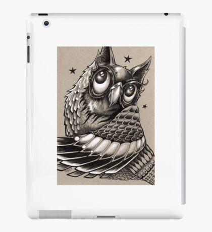 Decorative Owl iPad Case/Skin