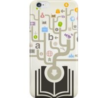 Business the book iPhone Case/Skin