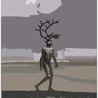 antlered man by David  Kennett